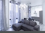 """Author's design 3-room apartment with a balcony for rent RC """"Smolny Park"""" Saint-Petersburg"""