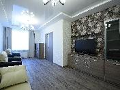 Аренда стильной 4-комнатной квартиры c террасой ул. Кораблестроителей 30 СПБ