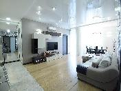 Аренда дизайнерской 4-комнатной квартиры c террасой Барочная ул. 12 С-Петербург
