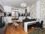 Аренда стильной 4-комнатной квартиры c двумя лоджиями ул. Графтио д. 5 С-Петербург