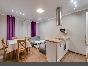 Аренда стильной 3-комнатной квартиры с лоджией в ЖК «Палацио» С-Петербург