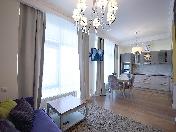 "Sale author's design studio apartment residential complex ""Finansist"" St-Petersburg"