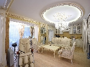 Author's design 5-room townhouse for rent Krestovsky Island Saint-Petersburg