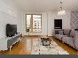 Аренда стильной 3-комнатной квартиры с лоджией ул. Графтио д. 5 Санкт-Петебург