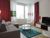 Stylish 4-room apartment for rent in a new house at 12, Barochnaya Street