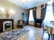 5-room apartment for rent reconstructed house at 6, Ochakovskaya Street St-Petersburg