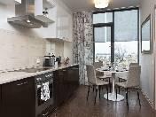 Modern 1-room apartment for rent  at 4, Chernishevskogo prospekt