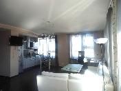 Rent modern style 2-room apartment at 4, Kapitanskaya Street