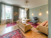Author's design 3-room apartment for rent at 121, Fontanka Embankment Saint-Petersburg