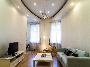 Stylish 3-room apartment for rent at 6, Malaya Morskaya Street
