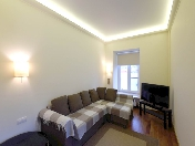 Modern style 3-room apartment for rent at 10, Admiralteiskaya Embankment St-Petersburg