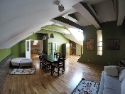 Stylish loft style 3-room apartment for rent at 4, Millionnaya Street Saint-Petersburg