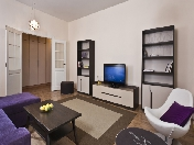 "Modern style 3-room apartment to let in an elite residential complex ""Oriental"" Saint-Petersburg"